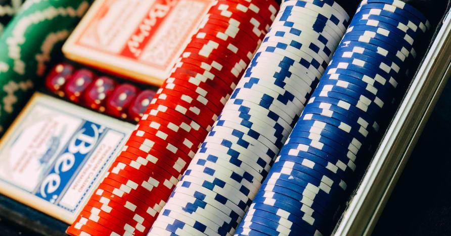 Masuk ke Texas Hold'em
